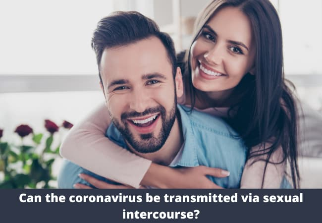 Can the coronavirus be transmitted via sexual intercourse