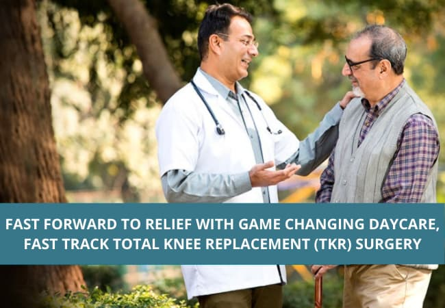 FAST TRACK TOTAL KNEE REPLACEMENT