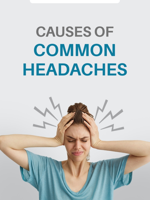 Causes of common headaches